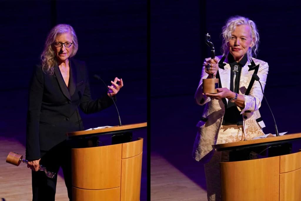 Annie Leibovitz and Ellen Von Unwerth