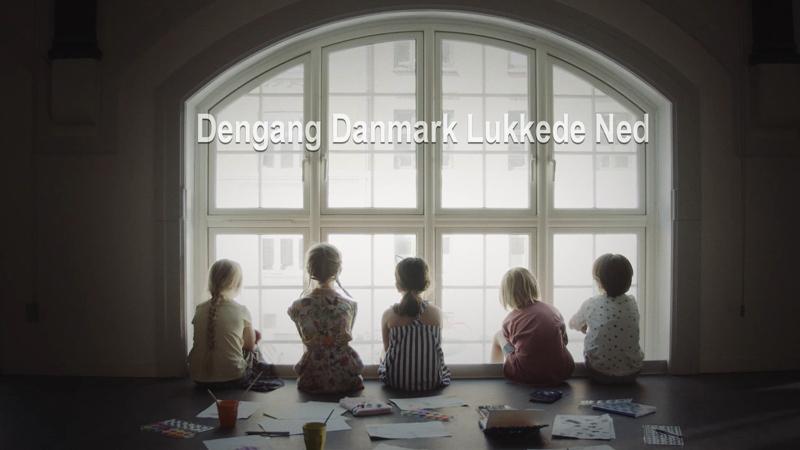 Den Gang Danmark lukkede ned
